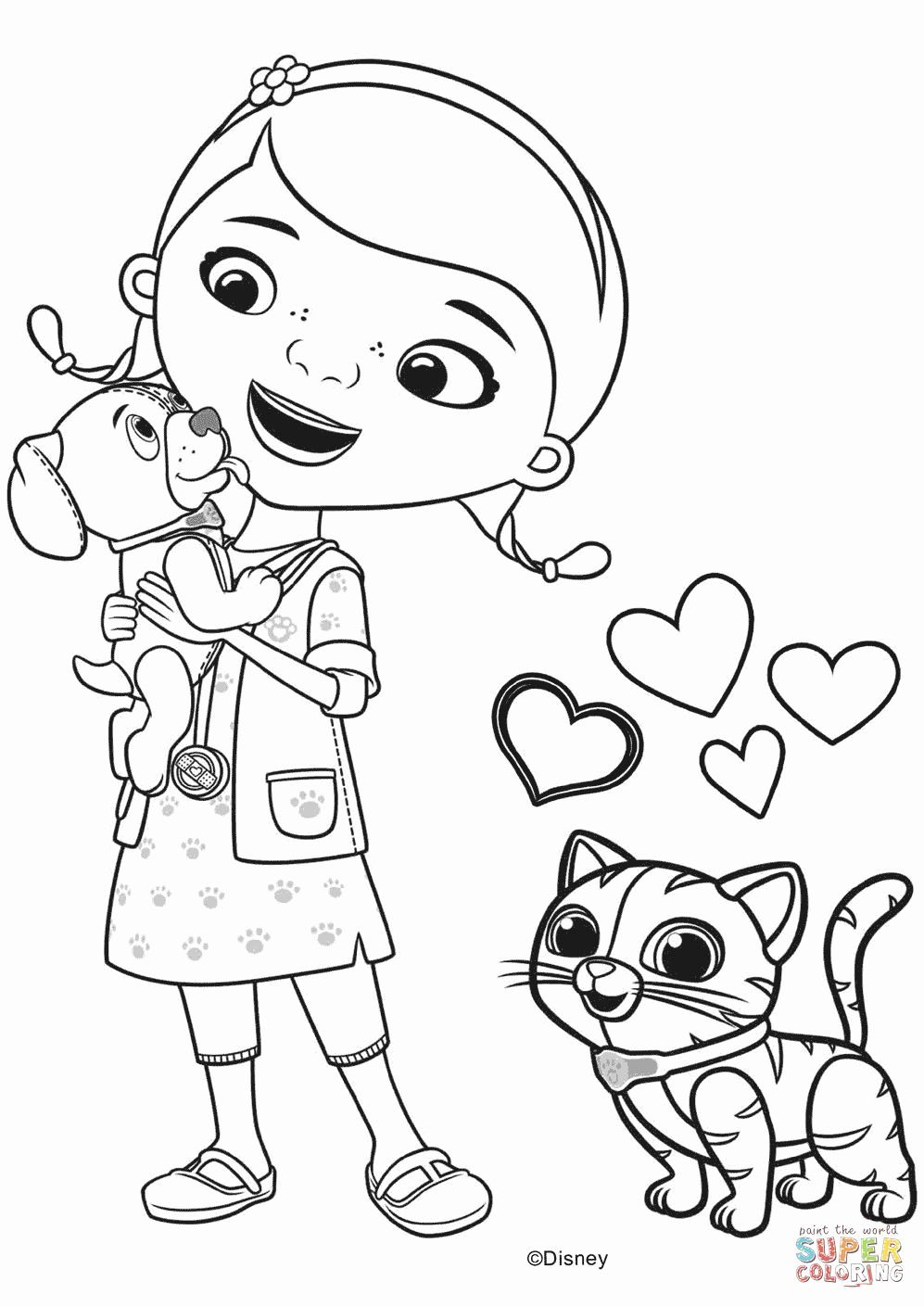 Coloring Pages For Kids Disney Jr Doc Mcstuffins Coloring Pages Disney Coloring Pages Free Coloring Pages