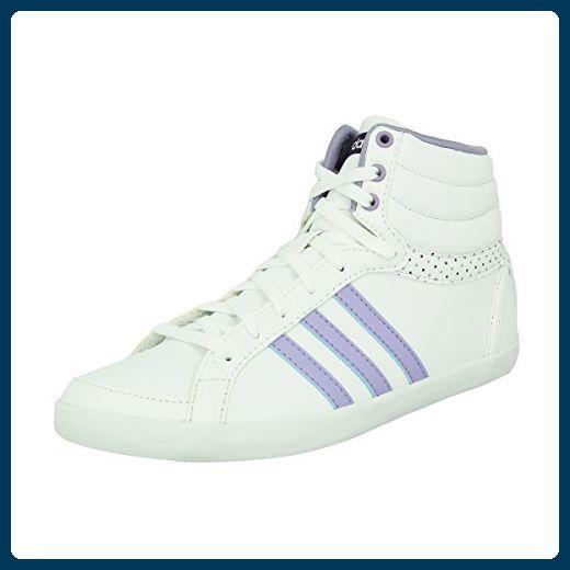 ADIDAS NEO DAMEN Sportschuhe Sneaker in Blau Weiß Lila