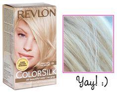Beauty Review Revlon Colorsilk Dyed Blonde Hair Light Ash
