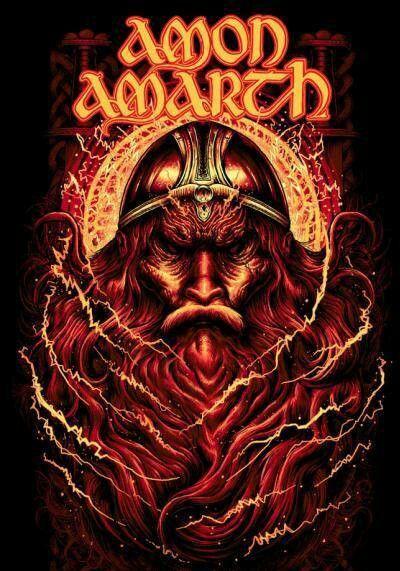 Amon Amarth Artwork With Images Amon Amarth Amon Album Art