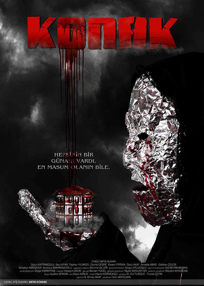 Yerli Korku Filmi Afislerindeki Tasarimin Incelenmesi Ve Ornek Uygulamalar Adli Lisans Tezi Uygulamasi Cekim Tasarim Metin Don Horror Favorite Movies Art
