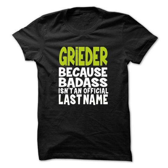 nice GRIEDER - Team GRIEDER Lifetime Member Tshirt Hoodie Check more at http://ebuytshirts.com/grieder-team-grieder-lifetime-member-tshirt-hoodie.html