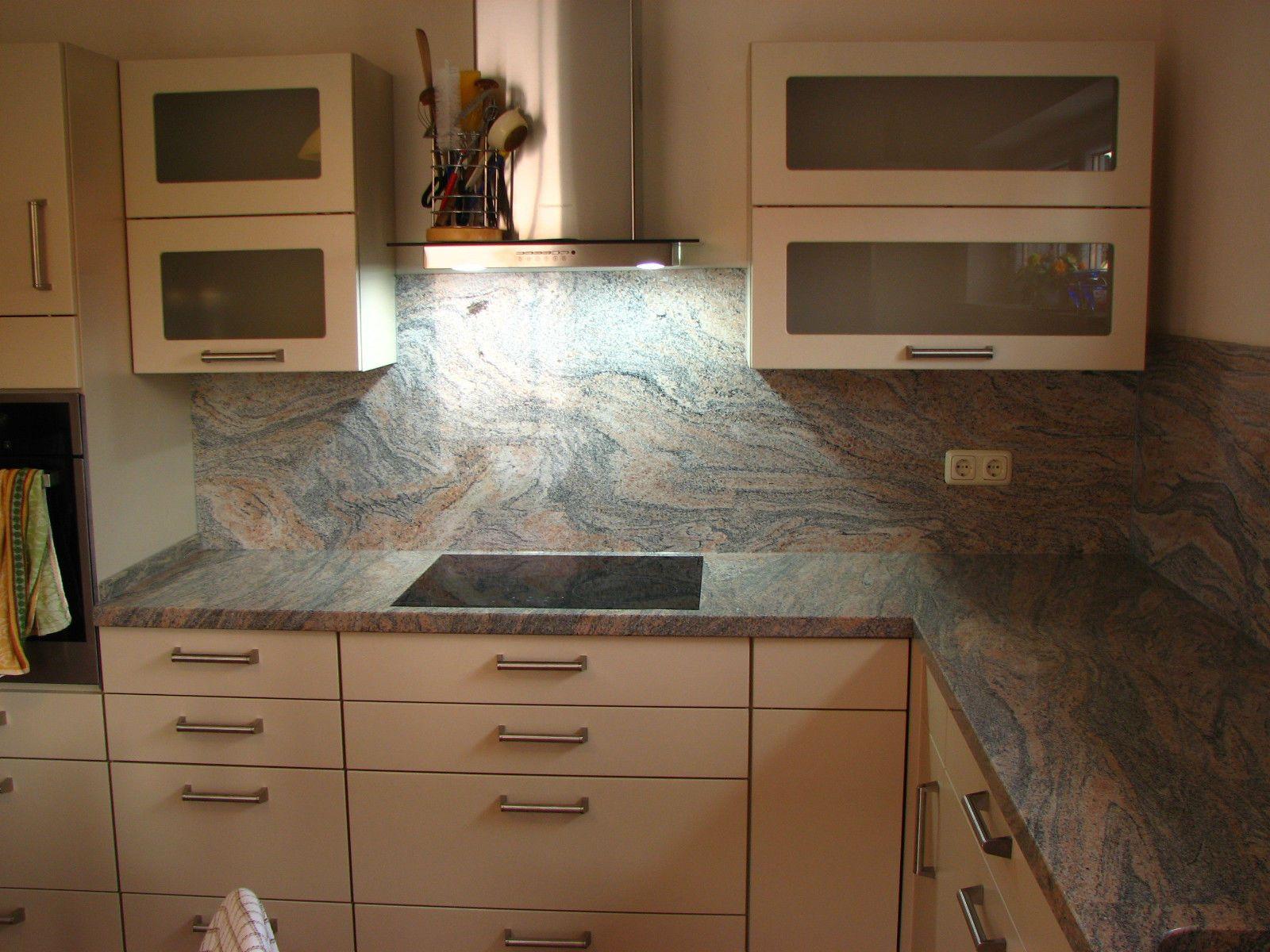 k chenarbeitsplatte platte arbeitsplatte k cheninsel k che juparana india granit wohnen. Black Bedroom Furniture Sets. Home Design Ideas