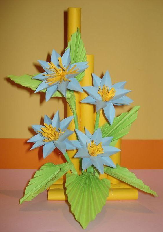 Kwiaty Z Papieru Ikebana Prace Plastyczne Dariusz Zolynski Flowers Paper Paper Flowers Orgiami Kir Detskie Podelki Bumazhnye Cvety Rozhdestvenskie Idei