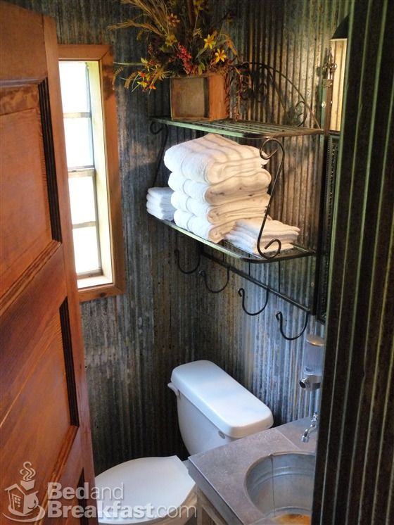Recycled Corrugated Metal Walls Fantastic In A New Corrugated Home Bathroom Ideas Pinterest