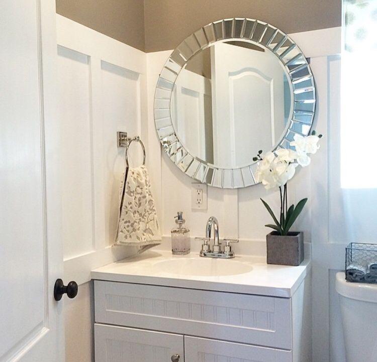 Mirrior From Tjmaxx Bathroom Decor In 2018 Pinterest Bathroom