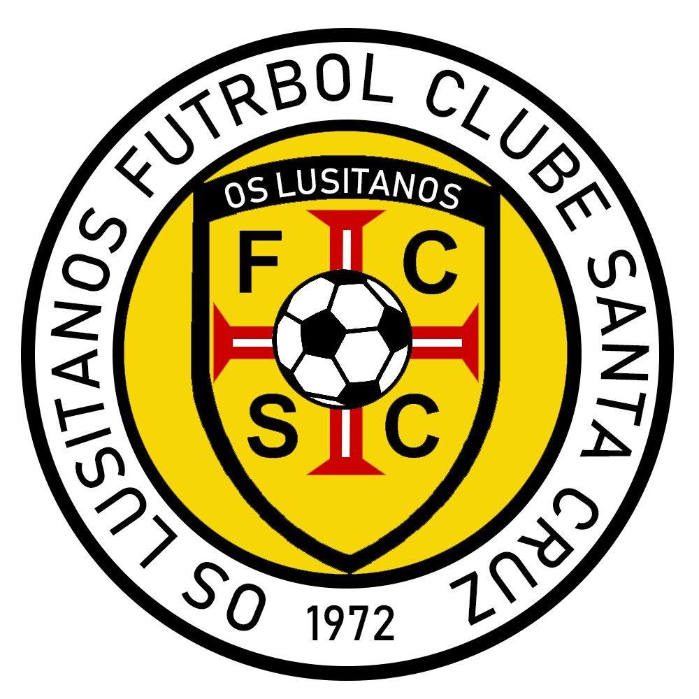 Os Luzitanos Fc Santa Cruz Portugal Football Logo Logos