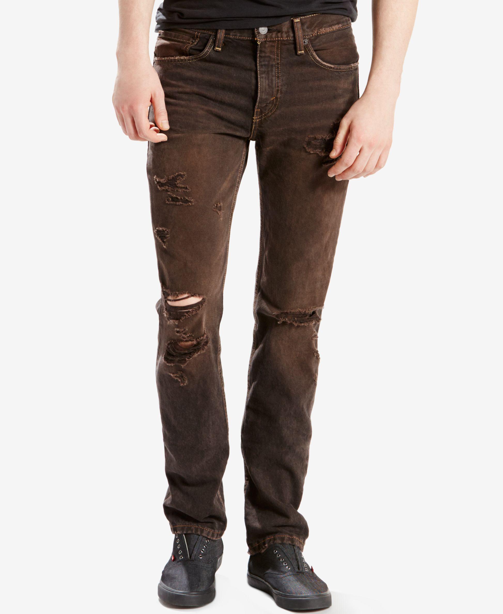 Levi's® Men's 511 Slim Fit Jeans   Slim fit ripped jeans