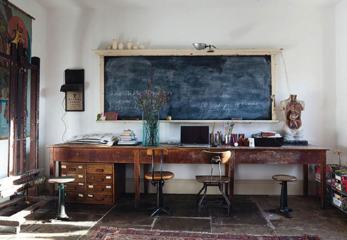 Beautiful Rustic Home Office Desks Introducing Natural Beauty Into