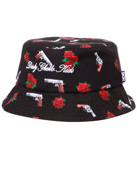 Yin and Yang Bucket Hat from DGK  2163aa16923