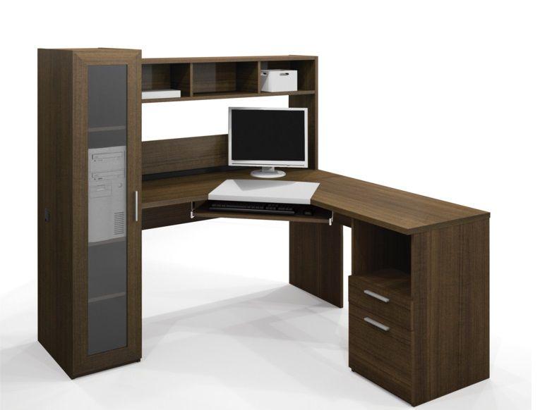 Make Your Pretty Home Prettier Corner Workstation Corner Desk Office Corner Computer Desk