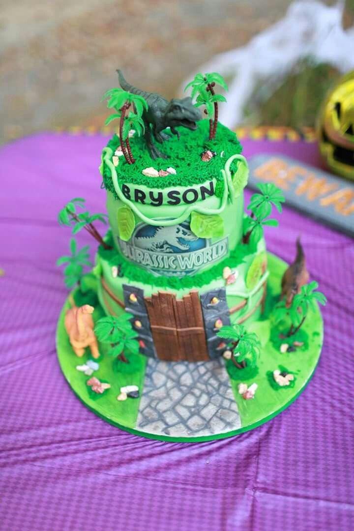 Jurassic world birthday cake by tiffanys sweets n treats