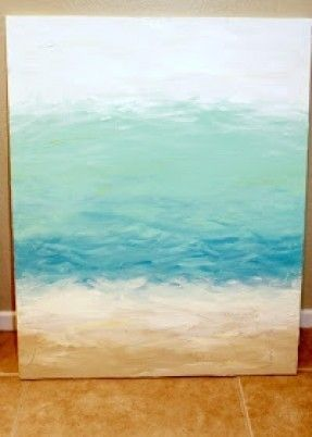 Easy do it yourself painting pick your favorite blues and make a easy do it yourself painting pick your favorite blues and make a special piece of solutioingenieria Gallery