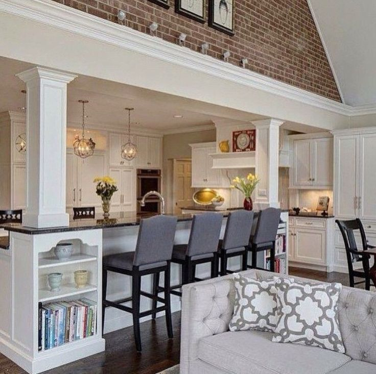 10 Ways To Incorporate Exposed Brick Into Your Home Bethany Mitchell Homes Home Home Decor House