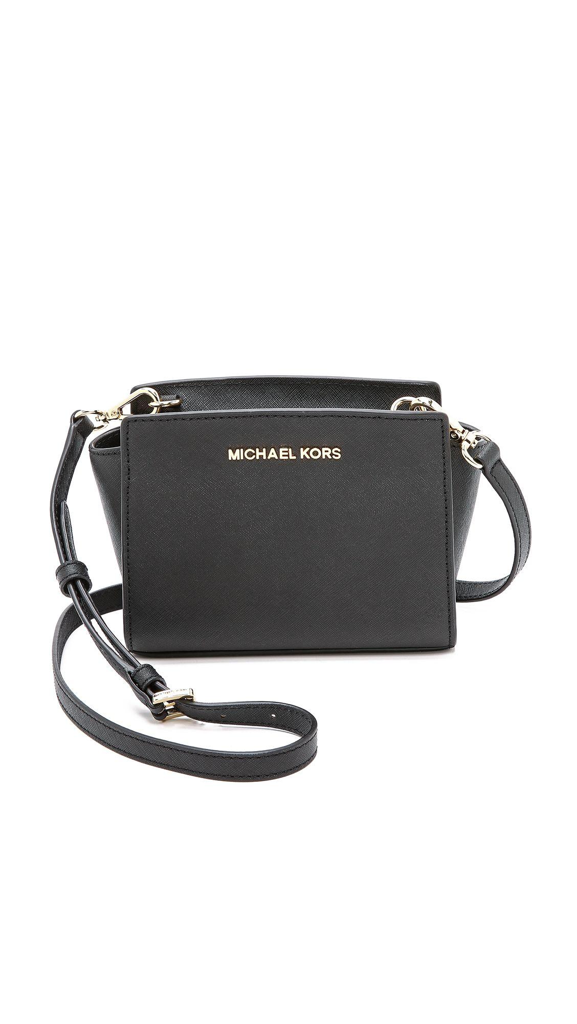 bd130d12688 Michael Michael Kors Selma Mini Messenger Bag - Black   SHOPBOP.COM saved  by  ShoppingIS