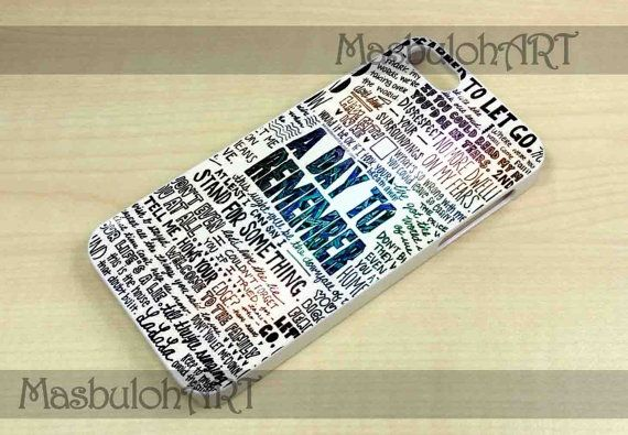 A Day to remember Quote  Samsung Galaxy S3 i9300 by MASBULOHCASES, $14.00