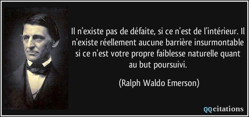 Ralph Waldo Emerson Citation Ralph Waldo Emerson