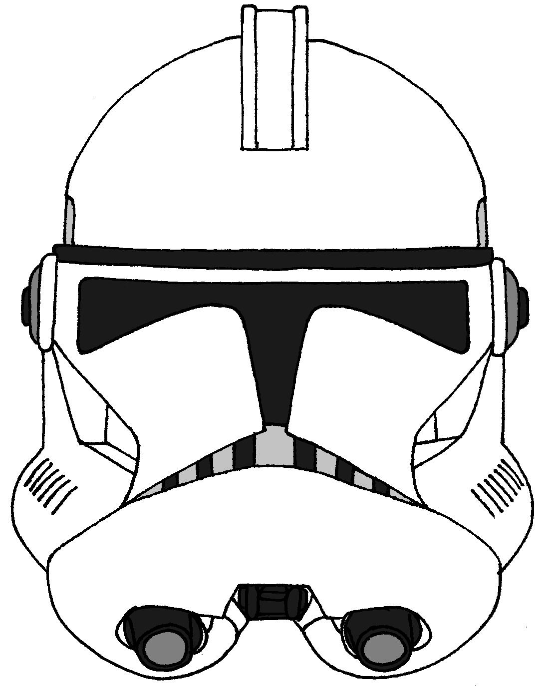 Clone Trooper Helmet Vector Clone Trooper Helmet P...