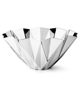 Georg Jensen Supernova Bowl Stainless Steel Decorative Accessory Harlequin London