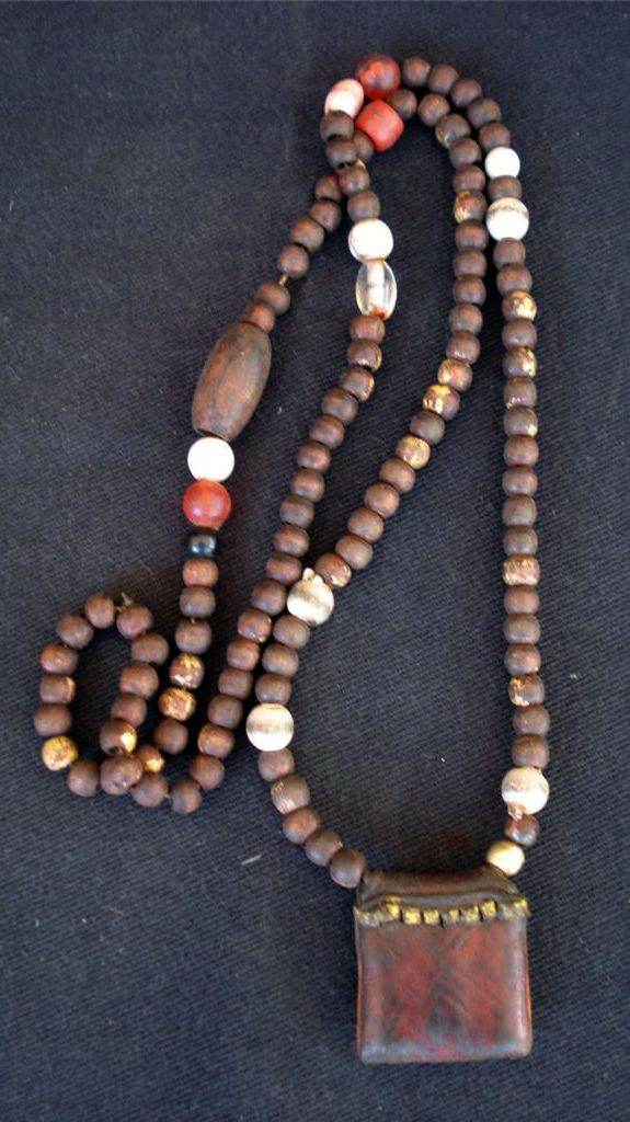 Amulet Jewelry Pendants Sothon: Amulet Necklace From The Oromo People Of Ethiopia