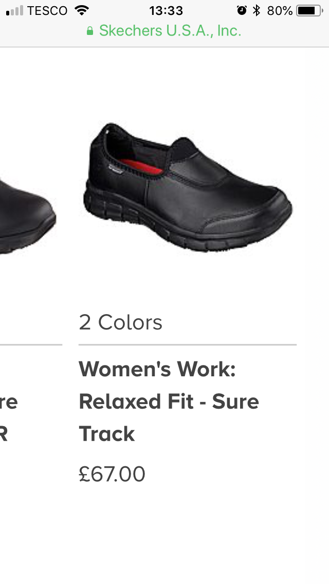 1dcc0f846a78 Pin by Mrs M on Skechers work shoes