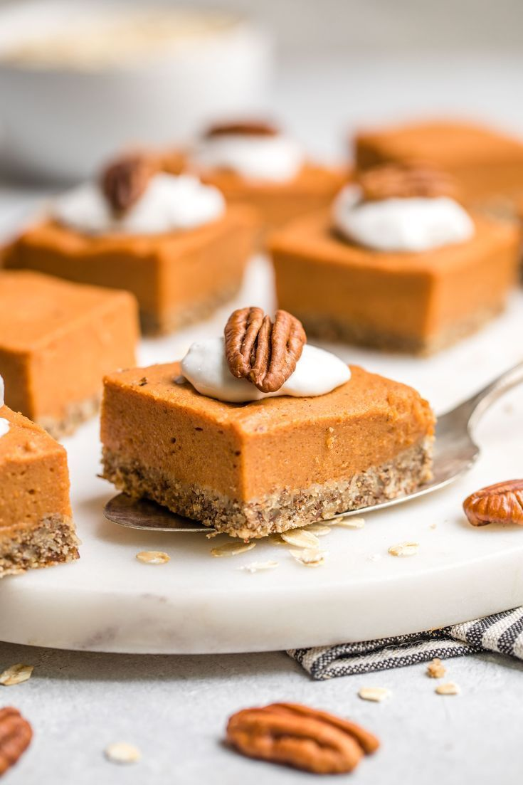 Sweet Potato Pie Bars (Gluten-Free & Vegan) - From My Bowl