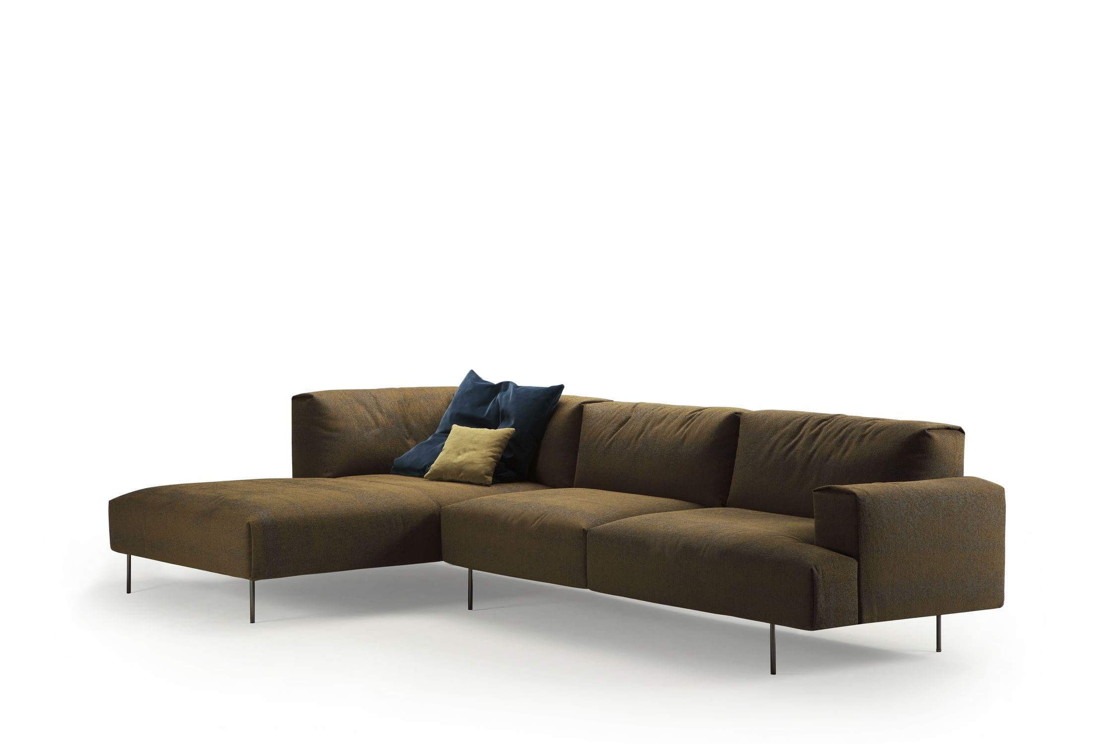 Modular Sofa Contemporary Fabric Tiptoe By Rafa Garcia Sancal