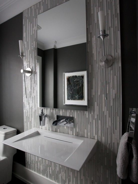 Powder Room Design Ideas Pictures Remodel And Decor Modern