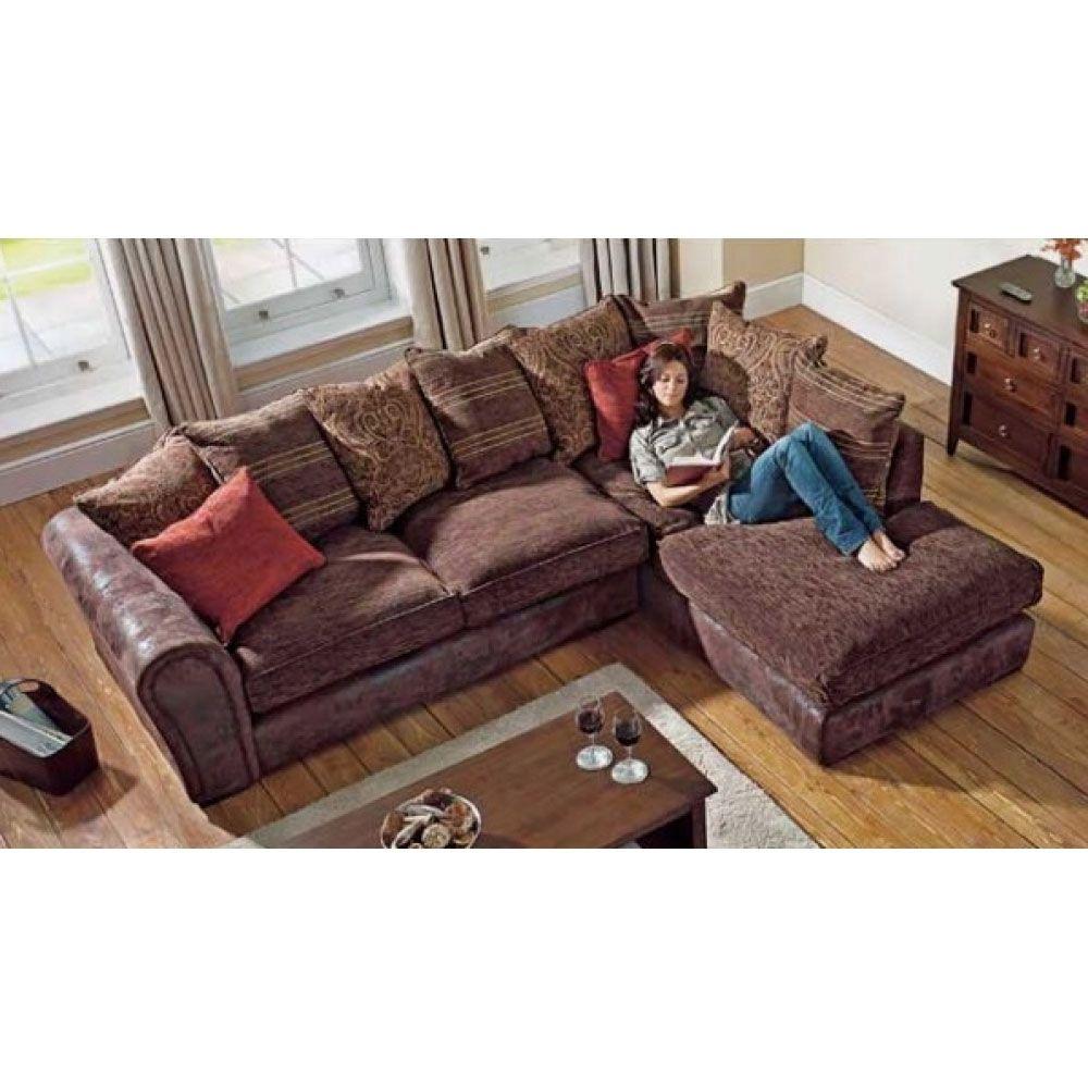 Corner Sofa Salou Brown Corner Sofa Available In 2 Colours