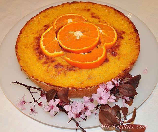 Receta Bizcocho de mandarina y chocolate para MIS RECETAS. COM
