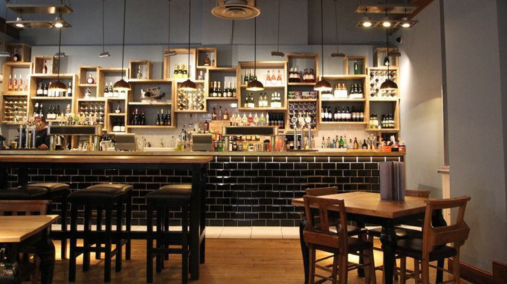 Awesome Bar And Restaurant Design Bristol: New Back Bar