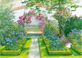 Popular Garten Idyll auf kleinstem Raum Mein sch ner Garten