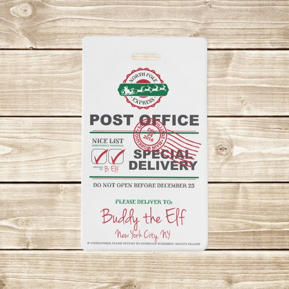 INSTANT DOWNLOAD (Digital) North Pole Express Post Office
