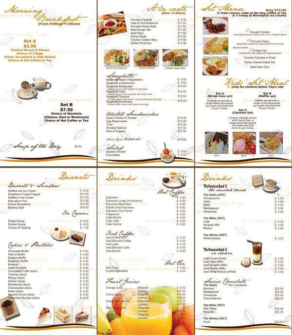 Ideas Diseno Cartas Menus Restaurantes Ejemplos Menus