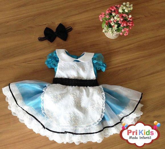 Vestido Filha Alice Luxo Vestido Para Aniversario Alice