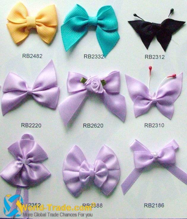 types of bows ribbon