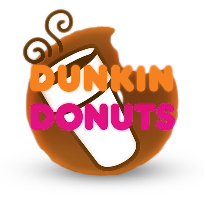 Dunkin Donuts Logo Roblox by BillyCurve Dunkin donuts