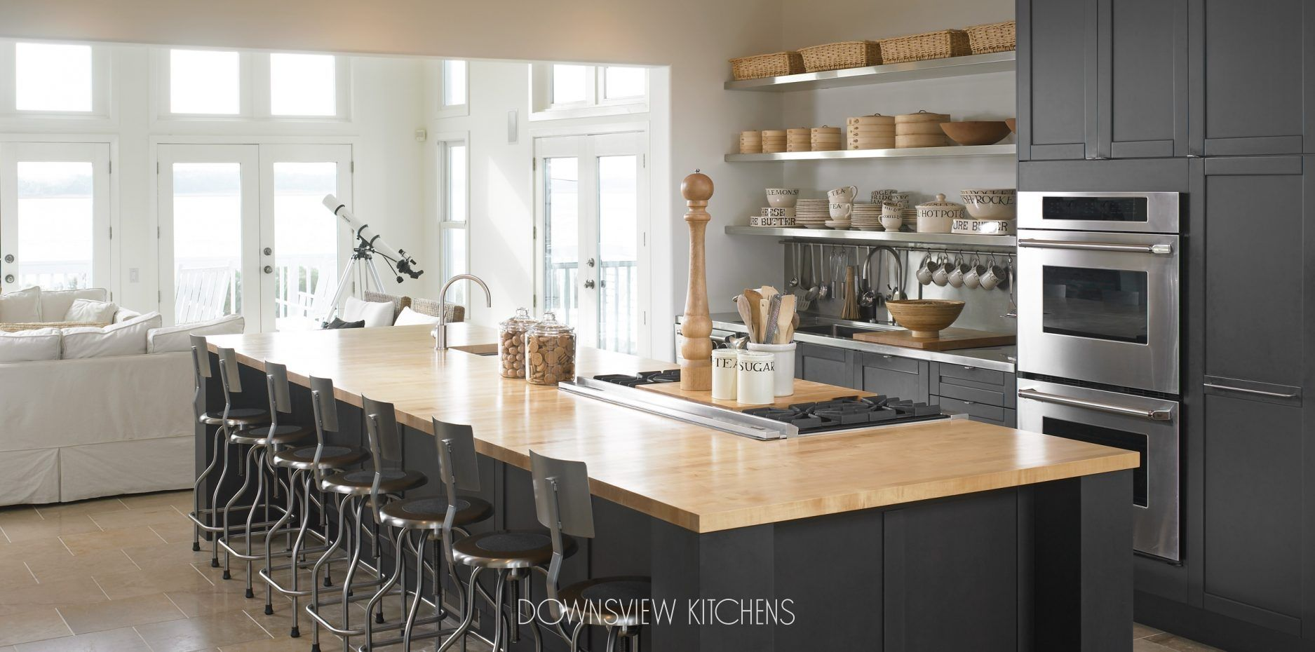 SEASHORE RETREAT   Downsview Kitchens And Fine Custom Cabinetry    Manufacturers Of Custom Kitchen Cabinets