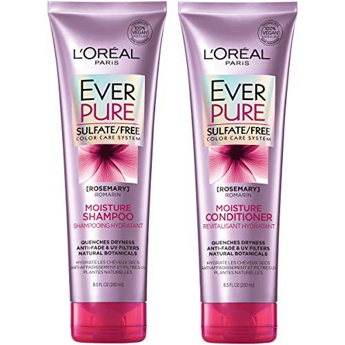 L Oreal Paris Hair Care Everpure Moisture Sulfate Free Shampoo Best Luxclout Com Good Shampoo And Conditioner Shampoo Free Sulfate Free Shampoo