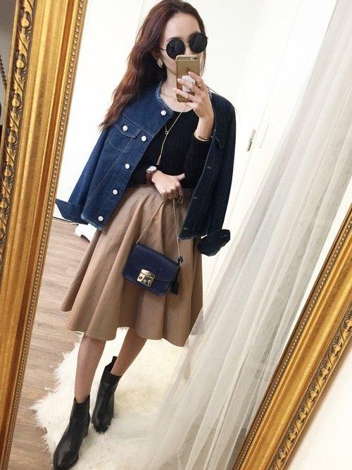 mao♡|SLOBE IENAのニット/セーターを使ったコーディネート - WEAR