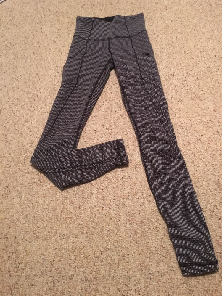 e74801e17f Lululemon Cadence Crusher Tight In Tiny Geo Black/White! Size 2! #fashion  #clothing #shoes #accessories #womensclothing #activewear (ebay link)