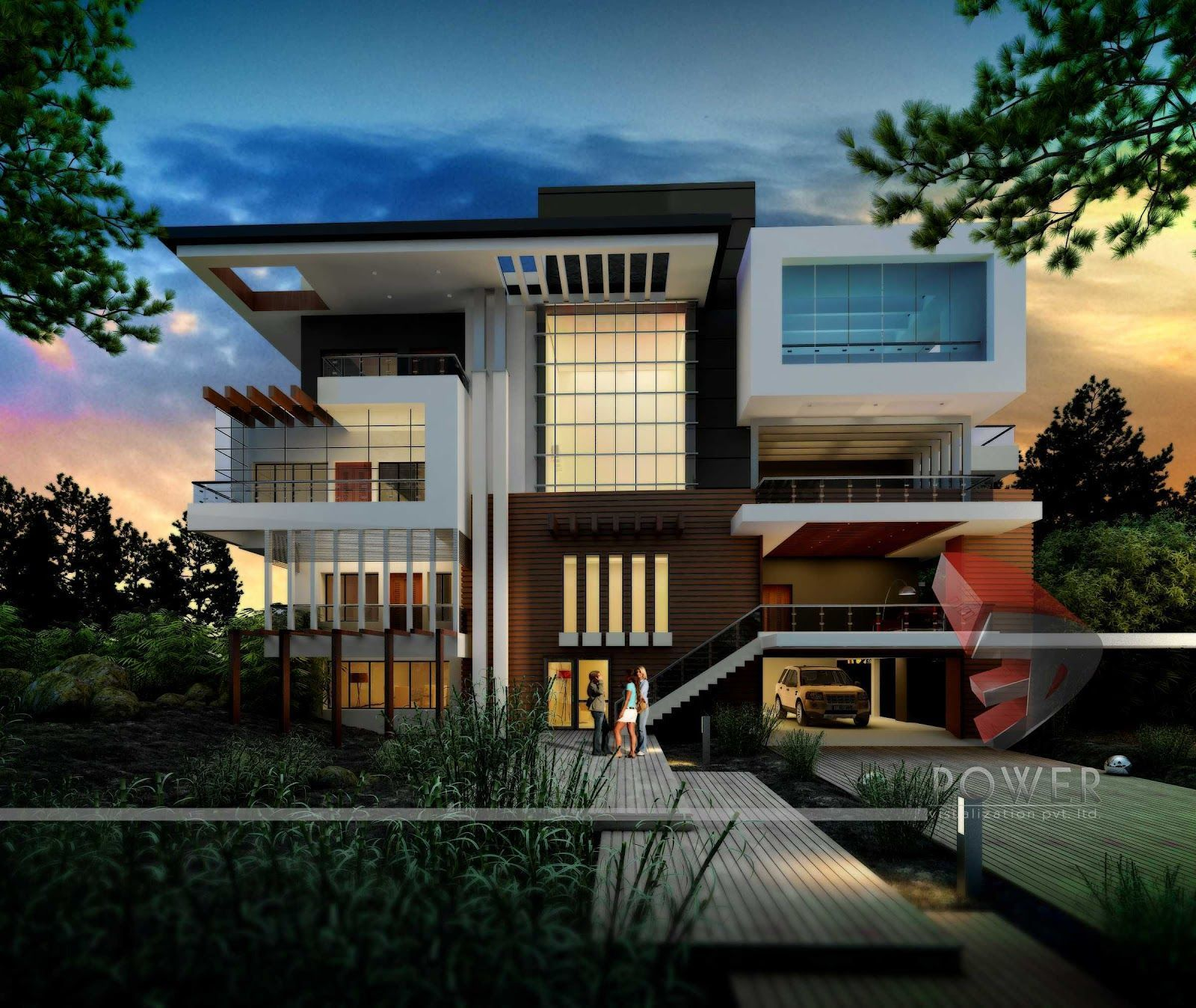 This Incredible Modern Mansion Is Definition Of Perfection Take A