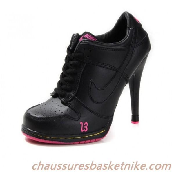 grand choix de 72ceb 6cfeb Pas cher Nike Dunk SB Talons Haut Mode Femmes noires ...