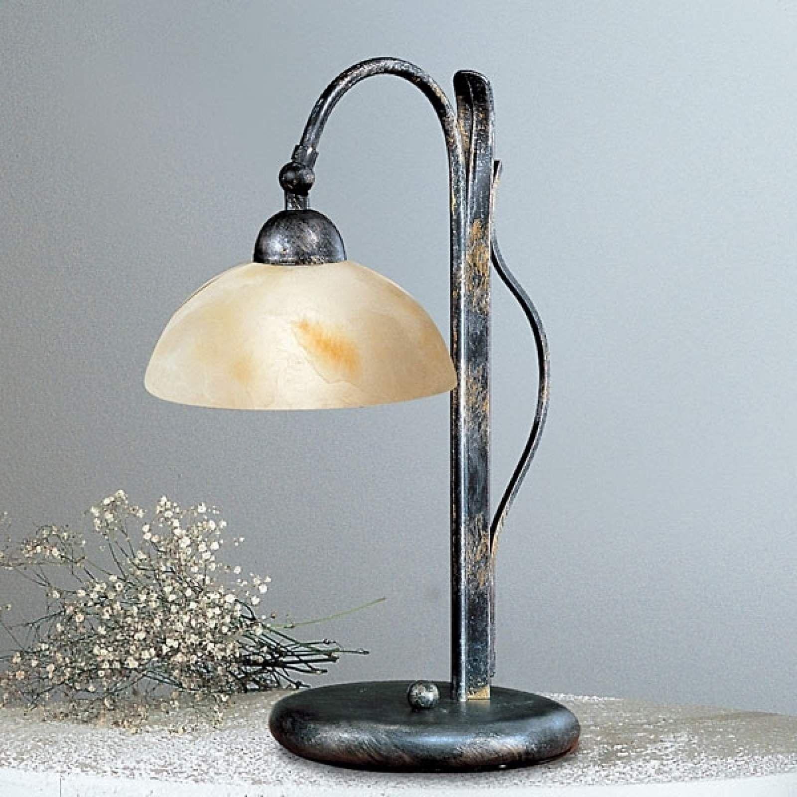 Landhaus Tischlampe Dana Von Kogl Grau Lampentisch Lampen Und Einbauleuchten