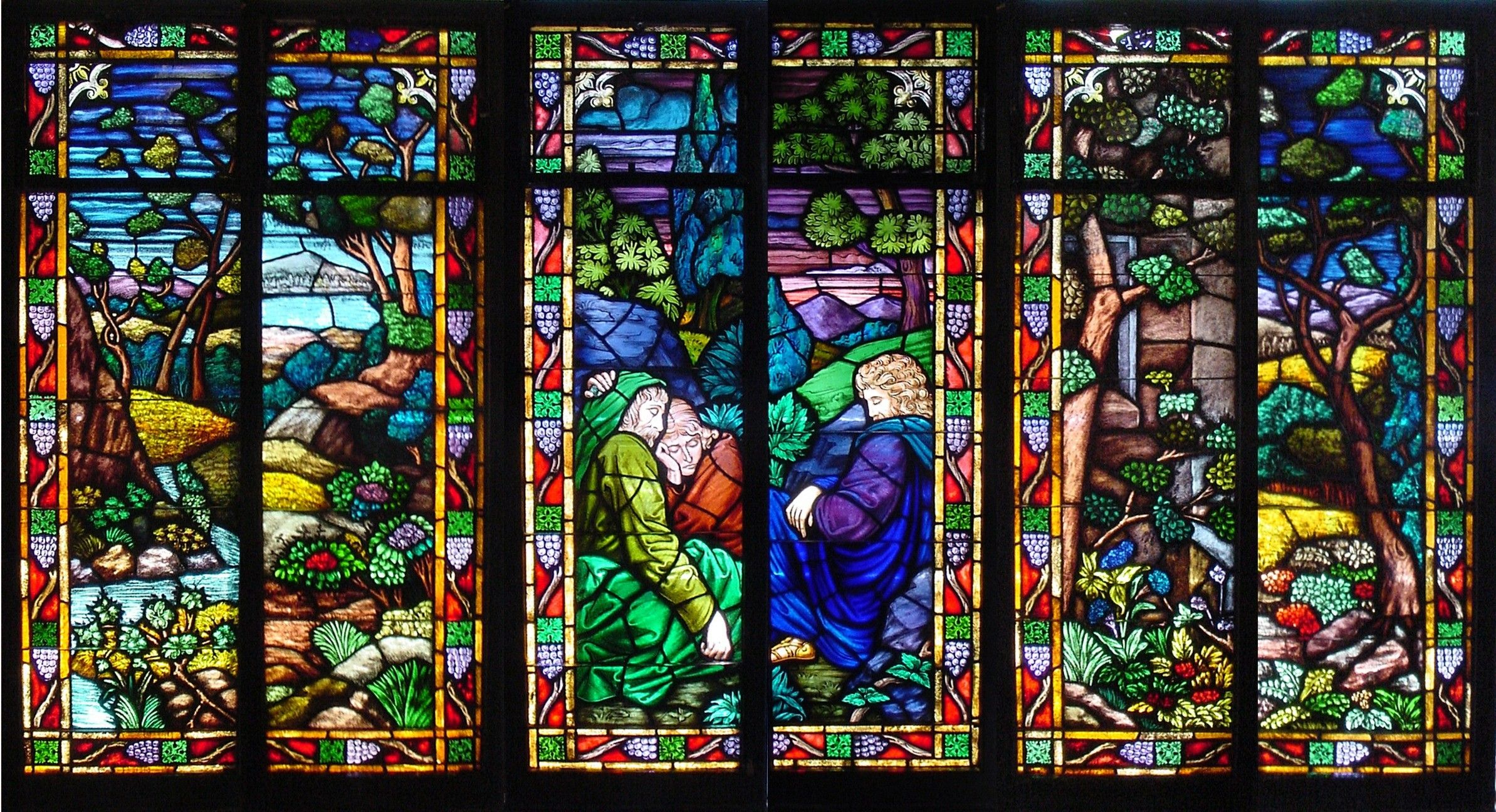 Beautiful Stained Glass Wallpaper Hd