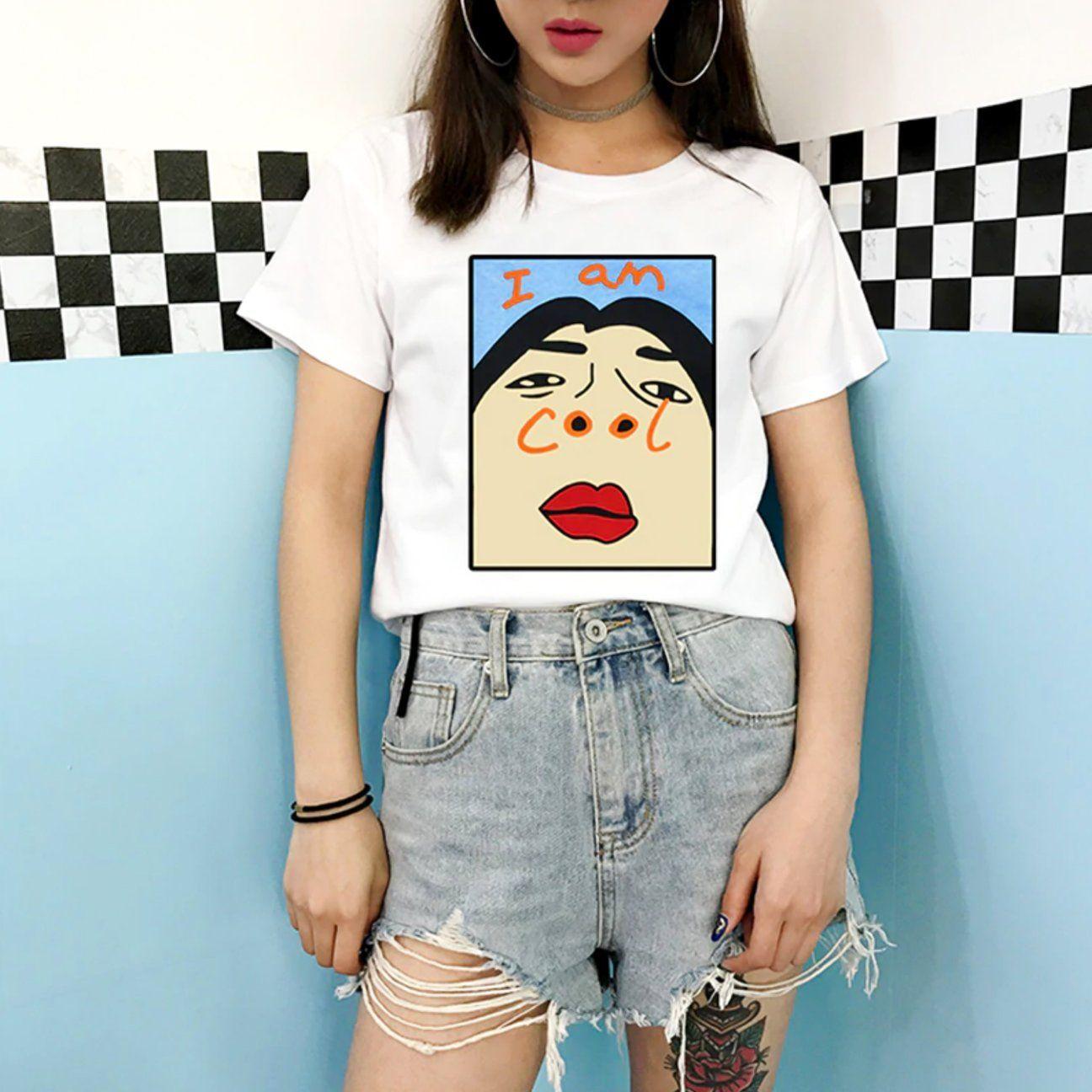 I Am Cool Tee – Subtle Asian Fashion 744923594594733930