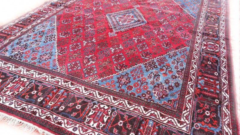 Blauw Perzisch Tapijt : Super groot chinees kleed vintage oosters tapijt met o a bloemen