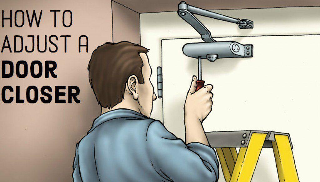 How To Adjust Your Door Closer Closed Doors Doors Closer