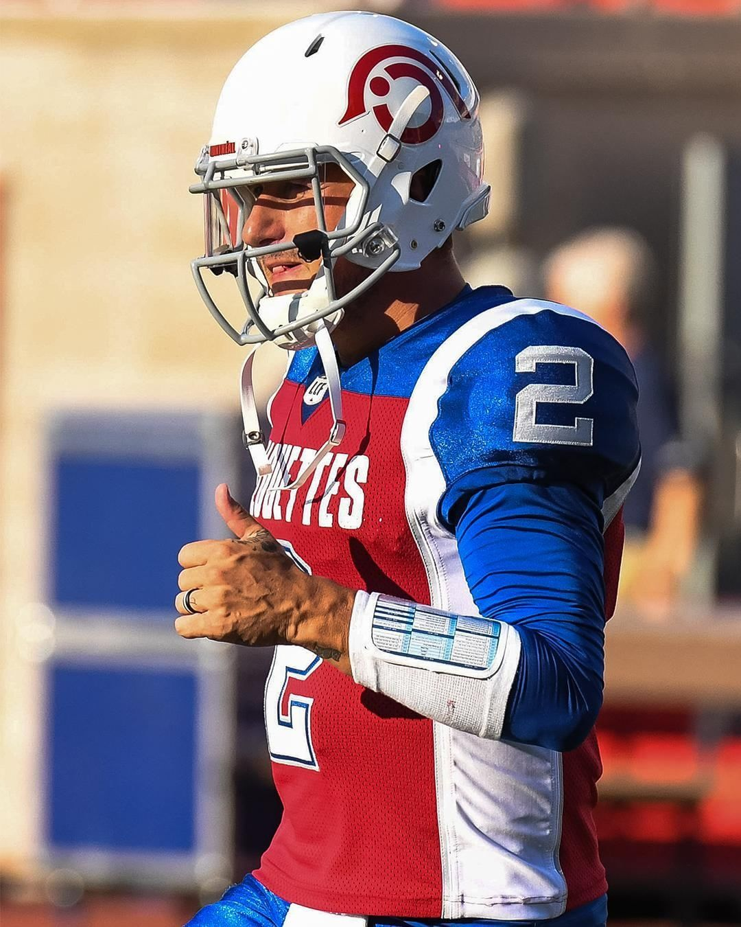 1bbbab5f3bd Here's Johnny! Manziel will make his CFL debut for the Montreal Alouettes  this Friday.