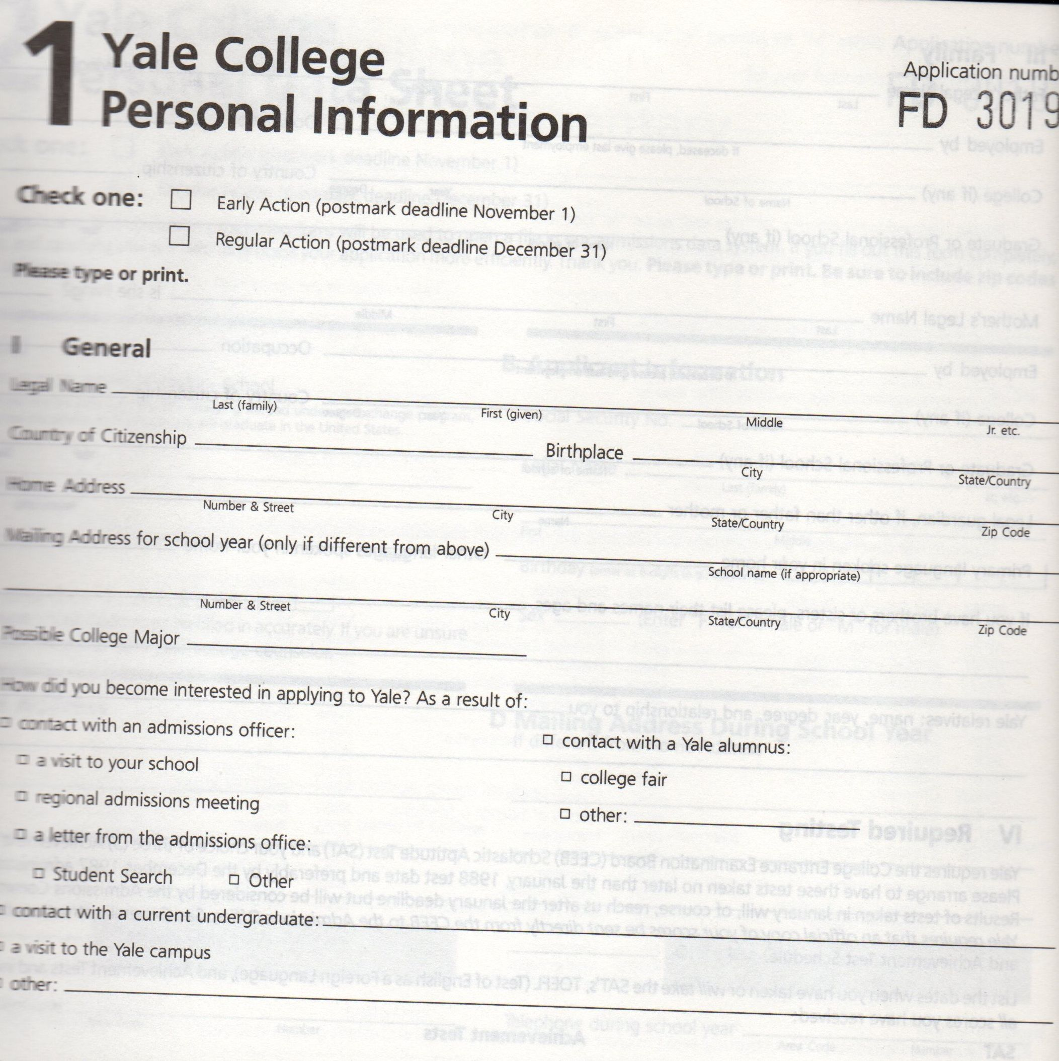 Remember filling this one out, Y87?